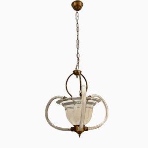 Murano Glass Pendant Lamp, 1950s