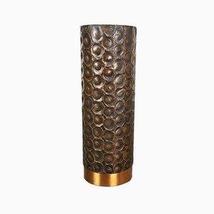 Sculptural Copper Vase, Austria, 1950s