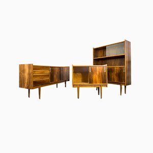 Syrius 1050/B Sideboards from Bytomskie Fabryki Mebli, 1960s, Set of 3