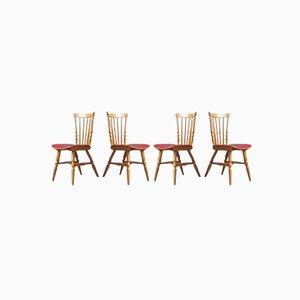 Esszimmerstühle von Baumann, 1960er, Set of 4