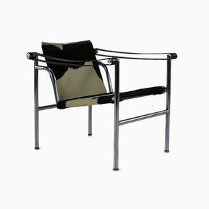 Poltrona modello LC-1 di Le Corbusier per Cassina, 1963