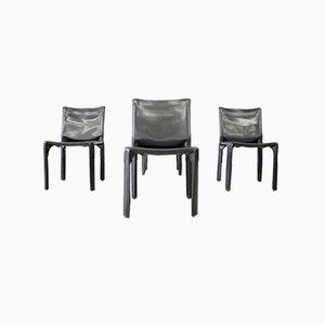 CAB 412 Chairs from Cassina, 1990s, Set of 4