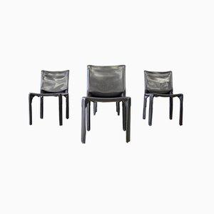 CAB 412 Stühle von Cassina, 1990er, 4er Set