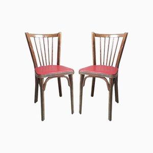 Vintage Esszimmerstühle von Baumann, 4er Set