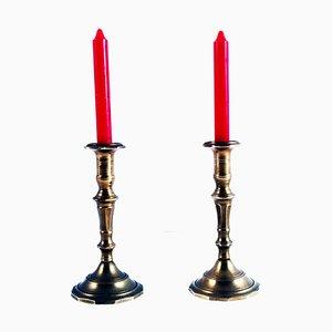 Antike Kerzenständer, 2er Set