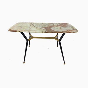 Mid-Century Italian Marble Coffee Table, 1950s