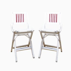 Italian Folding Chairs from Fratelli Reguitti, 1960s, Set of 2