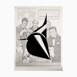 Rune Mields, Siebdruck, 1971