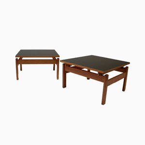 Mid-Century Domino Coffee Tables by Yngve Ekström for Swedese, Set of 2