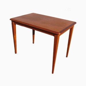 Scandinavian Teak Side Table, 1950s