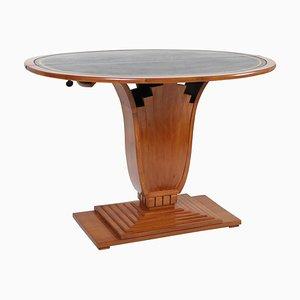 Tavolo da gioco Art Deco pieghevole, anni '20