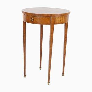 Tavolino con cassetto, inizio XIX secolo