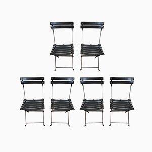 Esszimmerstühle von Marco Zanuso für Zanotta, 1980er, 6er Set