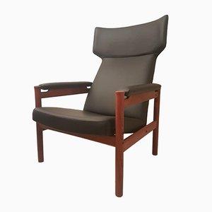 Mid-Century Model 4365 Wing Chair by Hansen, Soren for Fritz Hansen, 1960s