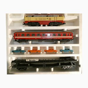 WLASM 71-80 Deutsche Bahn with Transport Cars Mercedes from Lima, Italy, 1980s, Set of 10