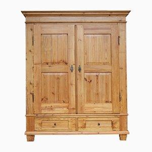 Armario de madera blanda, siglo XIX
