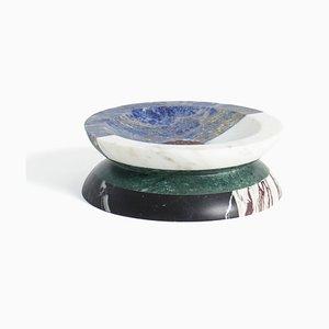 Centrotavola Aldo in marmo multicolore di Arthur Arbesser per MMairo