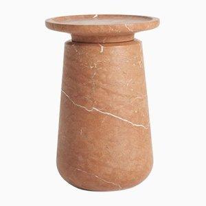 Tavolo piccolo in marmo di Ivan Colominas per Mmairo