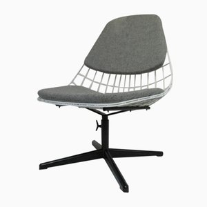 Mid-Century Swivel Wire Chair by Cees Braakman for Pastoe