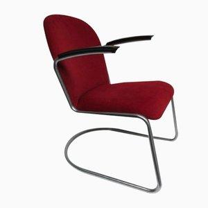 Chaise de Bureau 413 L Vintage par Willem Hendrik Gispen pour Gispen