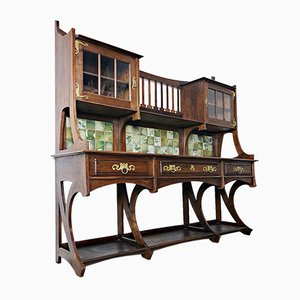 Large Antique Buffet by Gustave Serrurier-Bovy, 1899