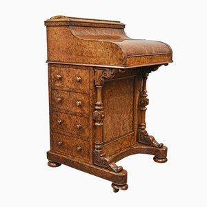 Walnuss Pop-Up Schreibtisch
