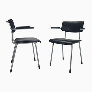1235 Gispen Chairs by André Cordemeyer / Dick Cordemeijer for Gispen, 1960s, Set of 2
