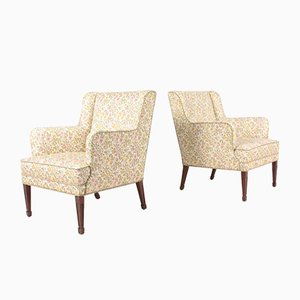 Lounge Chairs by Frits Henningsen, 1940s, Set of 2