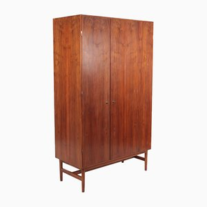 Mid-Century Wardrobe in Walnut, Denmark, 1960s