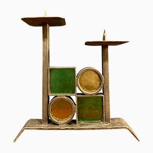 Brutalist Style Candleholder, 1960s