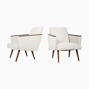 Czechoslovakian Armchairs, Set of 2