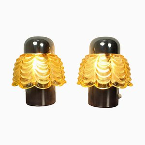 German Table Lamps, 1960s, Set of 2