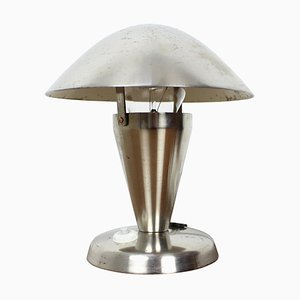 Art Deco Chrome Bauhaus Table Lamp, 1930s