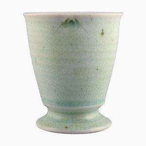 Cup or Vase In Glazed Porcelain by Jane Reumert