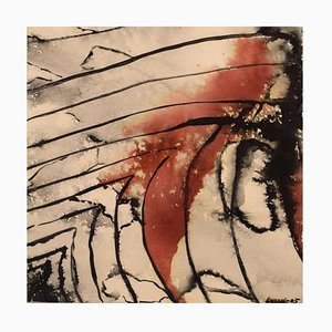 Ivy Lysdal, Mixed-Media on Paper, Abstract Modernist, 2005