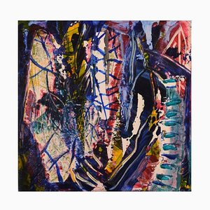 Ivy Lysdal, Acrylic on Canvas, Abstract Modernist, 2006