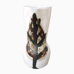 Französische Vintage Keramik Krug von Le Grand Chêne, 1950er