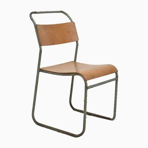 Vintage Stacking School Chair by by Ernest Bevin for Remploy