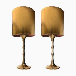 Model Ml 1 Table Lamp by Ingo Maurer, 1968, Set of 2
