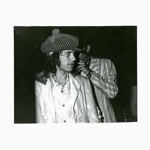 Rolling Stones Mick Jagger Photograph, 1971
