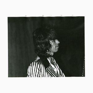 Fotografia di Keith Richards dei Rolling Stones, 1971