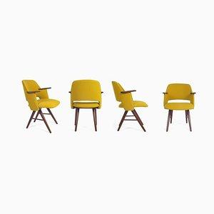 Esszimmerstühle von Cees Braakman für Pastoe, 4er Set