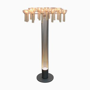 Architectural Candle Stand / Floor Lamp, Germany, 1970s