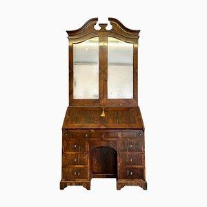 Antique Rosewood Bureau Bookcase, 18th Century