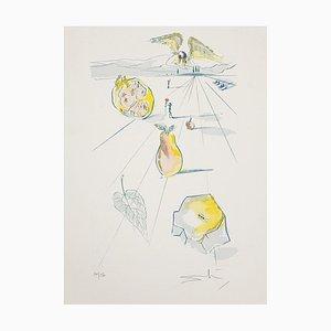 Salvador Dalí - die Früchte des Tales - Original Radierung - 1971