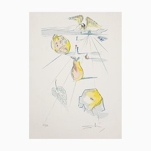 Salvador Dalí - the Fruits of the Valley - Original Etching - 1971