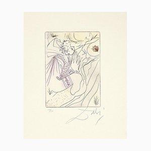 Salvador Dalí - Shared Sin - Original Radierung - 1972