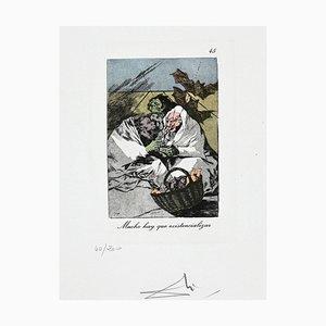Salvador Dalí - Much Muss Existencializar sein - 1977