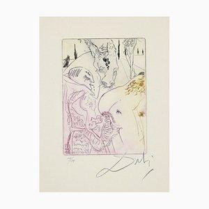 Salvador Dalí - Pierre Compere's Mare - Original Radierung- 1972