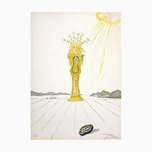 Salvador Dalí - Daphne - Original Lithographie - 1975/76